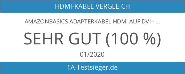 AmazonBasics Adapterkabel HDMI auf DVI - 4