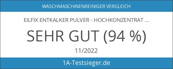eilfix Entkalker Pulver - Hochkonzentrat gegen Kalk - 1 .000