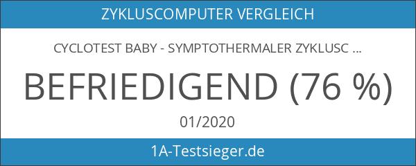 Cyclotest Baby - Symptothermaler Zykluscomputer - Der natürliche Weg zum
