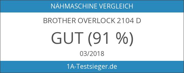 Brother Overlock 2104 D
