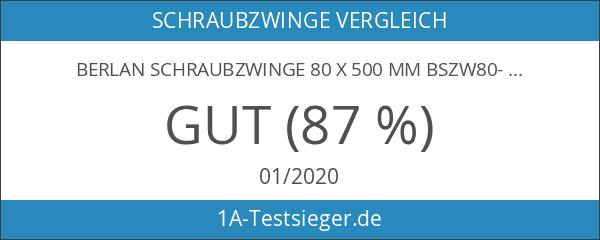 Berlan Schraubzwinge 80 x 500 mm BSZW80-500