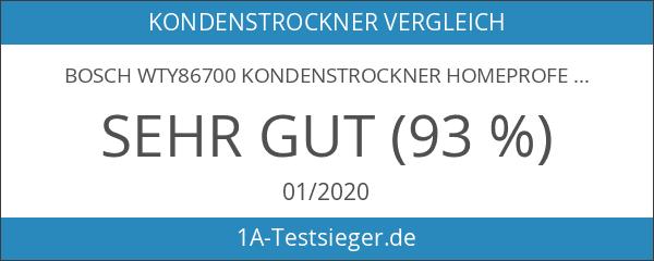 Bosch WTY86700 Kondenstrockner HomeProfessional