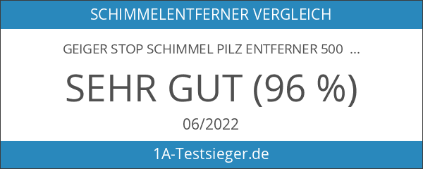 Geiger STOP Schimmel Pilz Entferner 500 ml