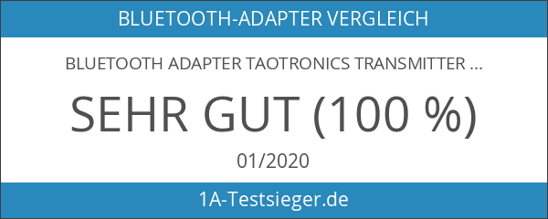Bluetooth Adapter TaoTronics Transmitter und Empfänger 2-in-1 Bluetooth 4.1