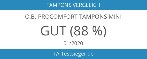 o.b. ProComfort Tampons Mini