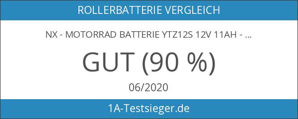 NX - Motorrad Batterie YTZ12S 12V 11Ah - Akku
