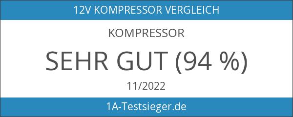 Grando 12V 10A Digitaler Bildschirm Luftkompressor Kompressor Luftpumpe und Schnell