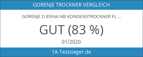 Gorenje D 85F66 NB Kondenstrockner FL