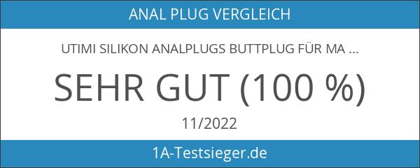 Utimi Silikon Analplugs Buttplug für Masturbation 3 Stück