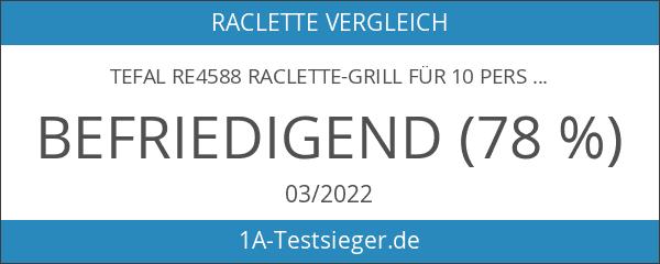 Tefal RE4588 Raclette-Grill für 10 Personen