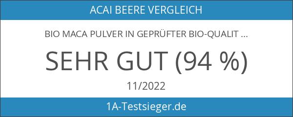 Bio Maca Pulver in geprüfter Bio-Qualität