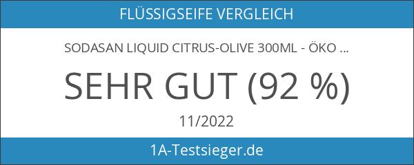 SODASAN LIQUID Citrus-Olive 300ml - ökologische Bio Seife flüssig