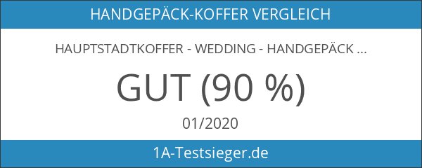 HAUPTSTADTKOFFER - Wedding - Handgepäck Koffer Kabinen Hartschalen-Koffer Trolley Rollkoffer