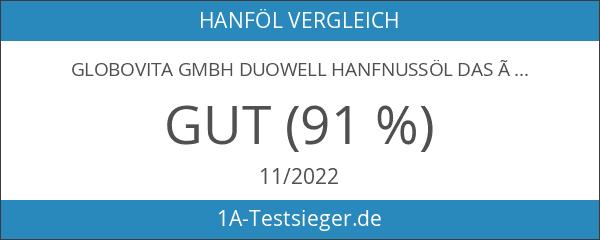 GloboVita GmbH Duowell Hanfnussöl DAS ÖL 500 ml - Bio