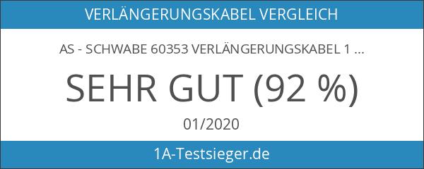 as - Schwabe 60353 Verlängerungskabel 15m