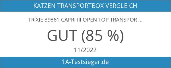 Trixie 39861 Capri III Open Top Transportbox