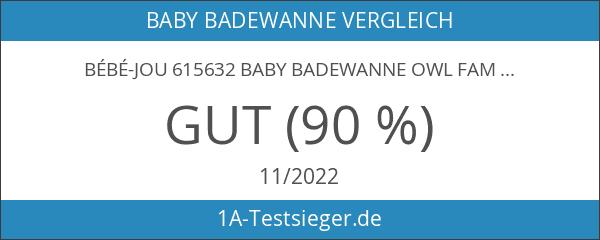 bébé-jou 615632 Baby Badewanne Owl Family