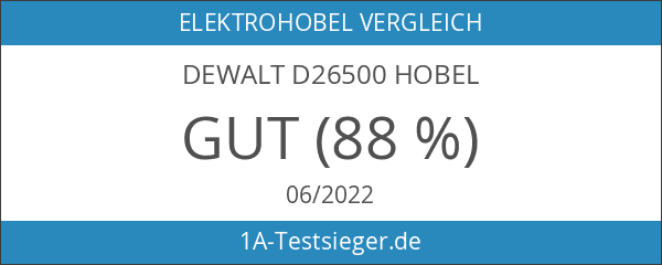 DeWalt D26500 Hobel