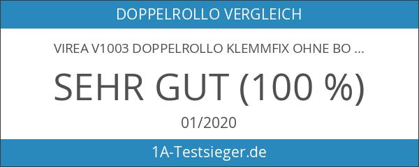 virea V1003 Doppelrollo Klemmfix ohne Bohren