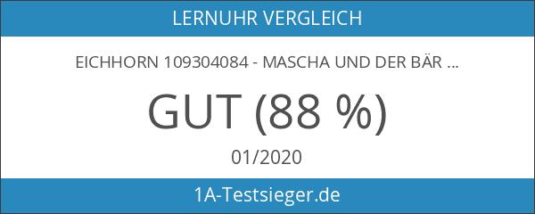 Eichhorn 109304084 - Mascha und der Bär Lernuhr Puzzle mit