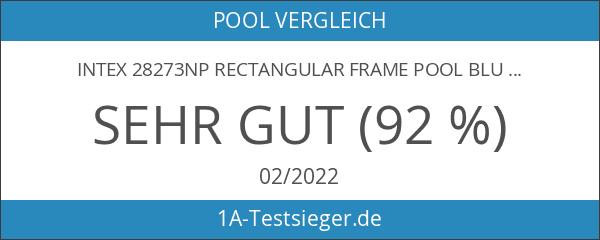 INTEX 28273NP Rectangular Frame Pool Blue