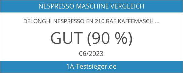 DeLonghi Nespresso EN 210.BAE Kaffemaschine schwarz