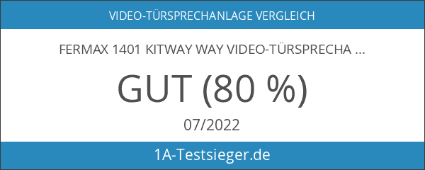 Fermax 1401 KITWAY Way Video-Türsprechanlage 1-Familien-Set