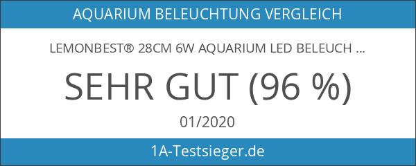 LemonBest® 28cm 6W Aquarium LED Beleuchtung Leuchte Lampe Blau 2