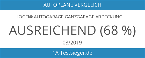 logei® Autogarage Ganzgarage Abdeckung Garage Abdeckplane Autoplane wasserdicht spezielles Cover