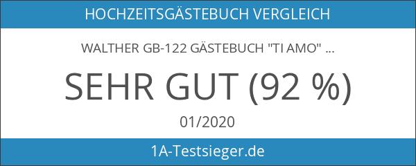 "Walther GB-122 Gästebuch ""Ti Amo"""