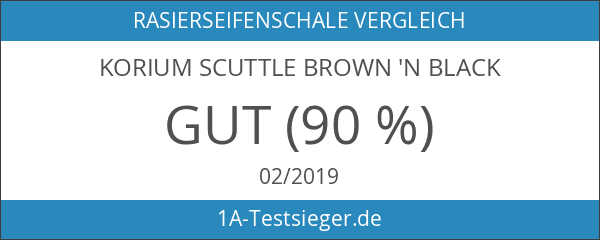 korium Scuttle brown 'n black