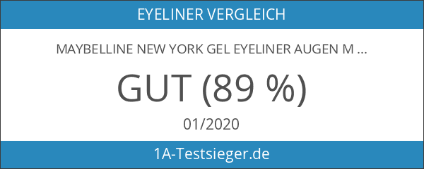 Maybelline New York Gel Eyeliner Augen Make-Up Eyestudio Lasting Drama