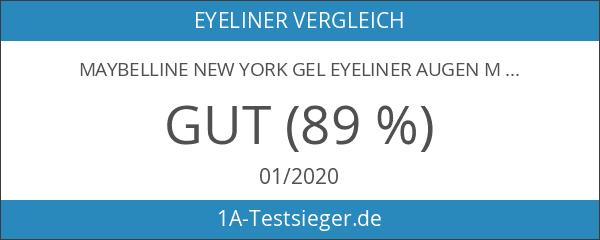 Maybelline New York Gel Eyeliner Augen Make-Up Eyestudio Lasting Drama