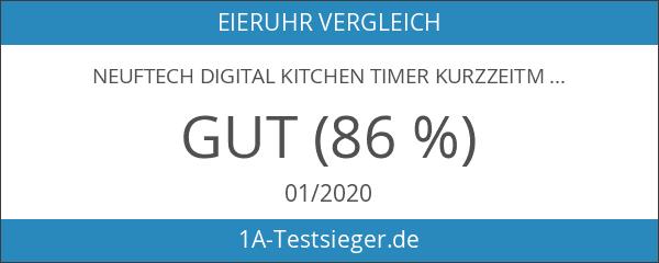 Neuftech Digital KITCHEN Timer Kurzzeitmesser Küchentimer kurzzeitwecker mit großes Digitaldisplay