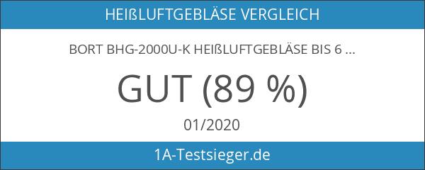 Bort BHG-2000U-K Heißluftgebläse bis 600 С° inkl.4-teiligem Zubehör
