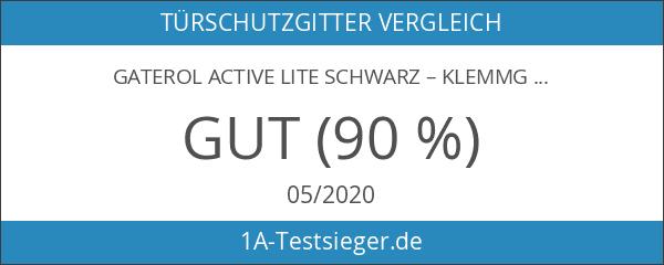 gaterol Active Lite schwarz–Klemmgitter