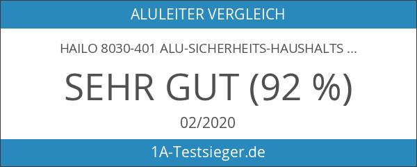 Hailo 8030-401 Alu-Sicherheits-Haushaltsleiter XXR