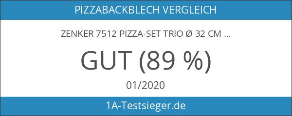Zenker 7512 Pizza-Set Trio Ø 32 cm