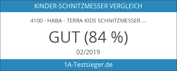 4100 - HABA - Terra Kids Schnitzmesser