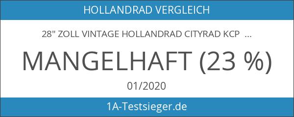 """28"""" Zoll VINTAGE HOLLANDRAD CITYRAD KCP DERITUS N3 mit 3"""