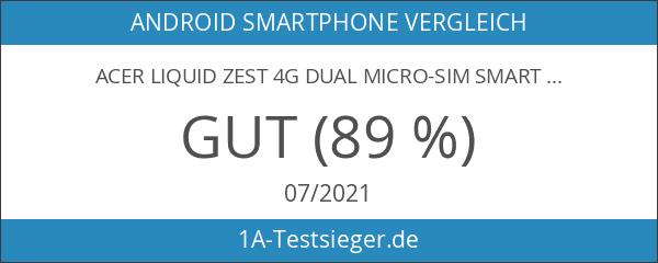 Acer Liquid Zest 4G Dual Micro-SIM Smartphone Display