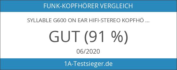 Syllable G600 on ear Hifi-Stereo Kopfhörer Bluetooth 4.0 mit ANC