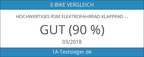 Hochwertiges RSM Elektrofahrrad Klapprad