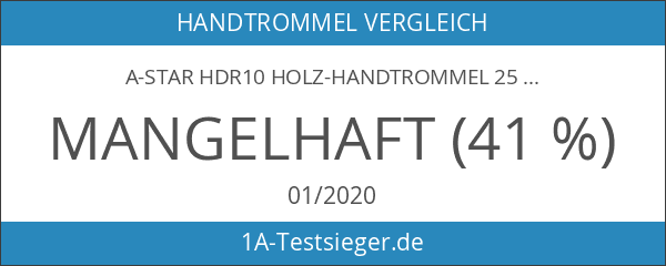 A-STAR HDR10 Holz-Handtrommel 25