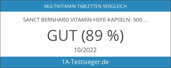 Sanct Bernhard Vitamin-Hefe-Kapseln- 500 Tabletten
