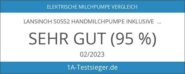 Lansinoh 50552 Handmilchpumpe inklusive NaturalWave Sauger