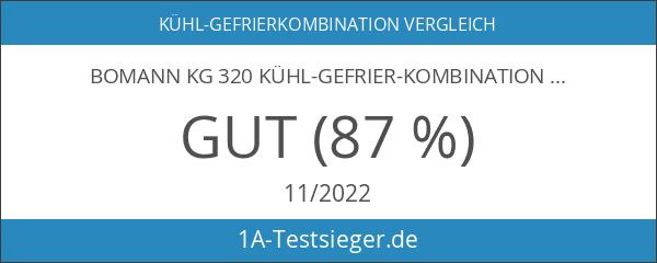 Bomann KG 320 Kühl-Gefrier-Kombination