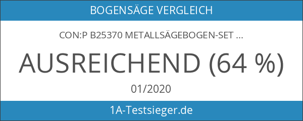 CON:P B25370 Metallsägebogen-Set