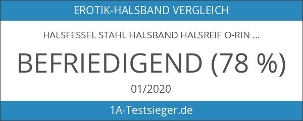 Halsfessel Stahl Halsband Halsreif O-Ring Bondage BDSM Erotik Paare Sex-toys