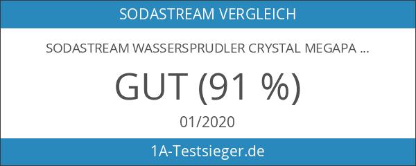 SodaStream Wassersprudler Crystal Megapack